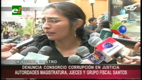 Ex fiscal denuncia red de corrupción ligada a autoridades judiciales