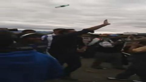 Tarija: Echan a botellazos a Pablo Canedo de un partido de fútbol