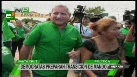 Santa Cruz: Demócratas preparan transición en la Gobernación y municipios
