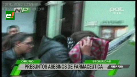 Oruro: IDIF apunta a sobrino de farmacéutica como su asesino