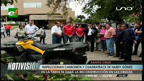 Juicio por asesinato: Inspeccionaron la camioneta y el cuadratrack de Hardy Gómez