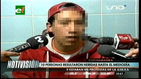 Cochabamba: Enfrentamientos universitarios dejan diez heridos