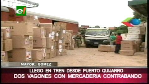 El COA incauta productos de contrabando de origen brasileño
