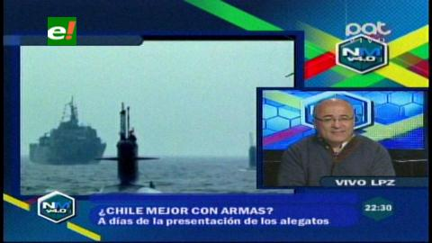¿Chile mejor con armas?, ministro Moldiz responde