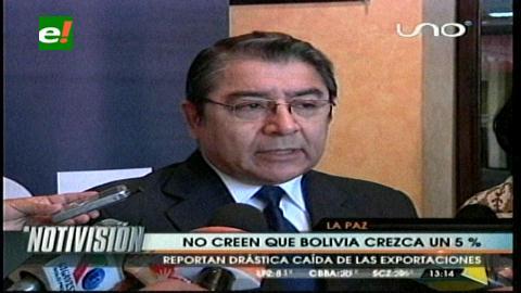 IBCE no cree que Bolivia crezca en un 5%