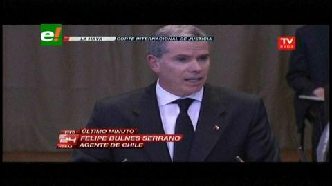 Chile se niega a aceptar que la CIJ obligue a negociar una salida soberana al mar para Bolivia