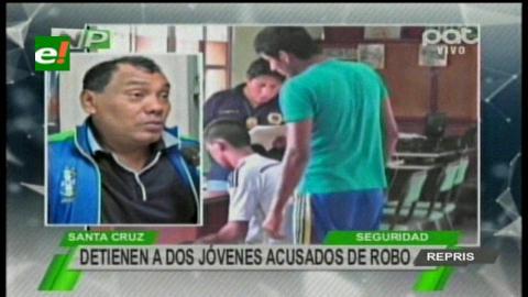 Villa Primero de Mayo: Detienen a dos ladrones de celulares