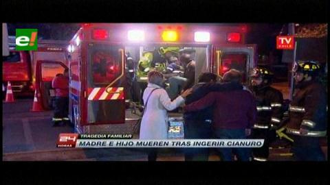 Chile: Mueren madre e hijo intoxicados con cianuro