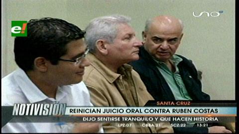 Reinician juicio por el referéndum de los Estatutos  Autonómicos contra Rubén Costas y ex consejeros