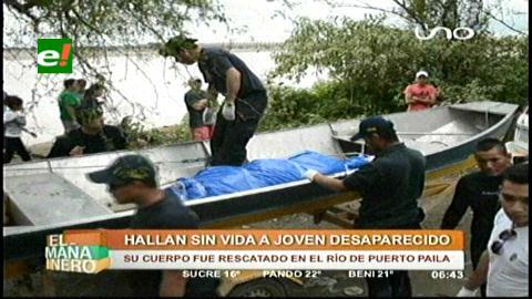 Rescatan el cuerpo de un hombre desaparecido en el río Grande