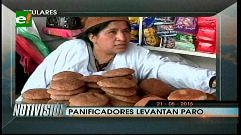 Titulares de TV: Panificadores levantan paro en La Paz, esperan diálogo con el Gobierno