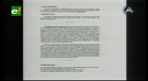 Demanda marítima. Corte de La Haya emitirá fallo sobre la objeción chilena el 24 de septiembre