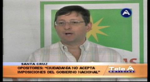 Senador Ortiz: «El pueblo rechazó la Autonomía manipulada por el MAS»