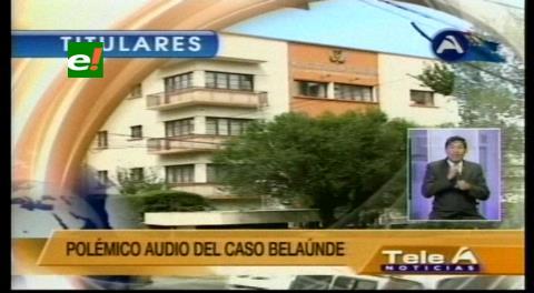 """Titulares de TV: Ministro Romero pide a Moldiz no """"lavarse las manos"""" con Pérez por el caso Belaunde"""