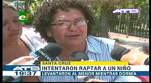 Santa Cruz: Investigan intento de rapto de un niño de 3 años