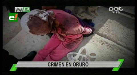Oruro: Felcc investiga el asesinato de una madre y la violacíon de su hija