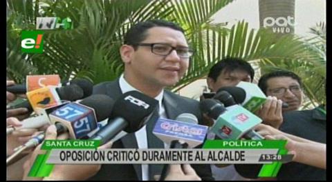 Diputado Monasterio critica apoyo a Evo: «Percy ya no está a la altura de Santa Cruz»