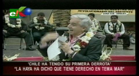 Bolivia logró en la CIJ una primera victoria en 136 años de derrotas, admite vicepresidente García