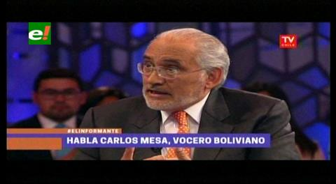 Video del ex presidente Carlos Mesa entrevistado en Chile por El Informante