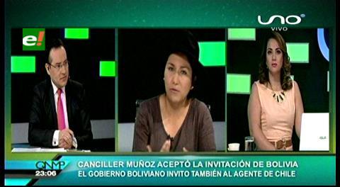 Ministra Paco: «Las autoridades de Chile definirán la hora y la fecha de la entrevista»
