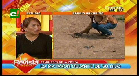 Santa Cruz: Niño de cinco años vio cómo mataron a su padre por un celular