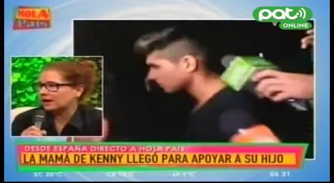 Madre de Kenny: «Están cometiendo una injusticia con mi hijo»