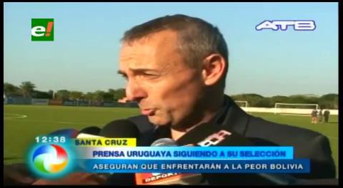 Prensa uruguaya señala que su país enfrentará a la peor selección boliviana de la historia