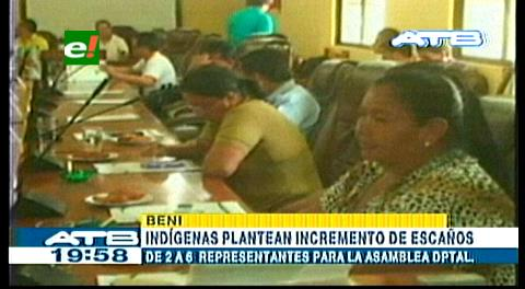 Beni: Indígenas plantean el aumento de escaños en la ALD