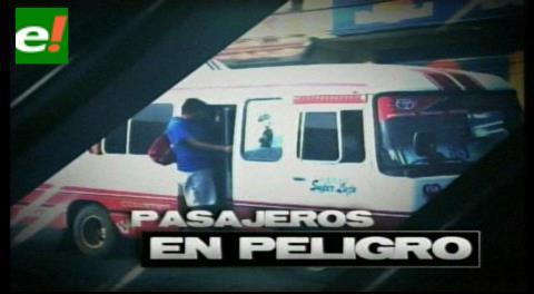 Informe especial: Pasajeros de microbuses en peligro