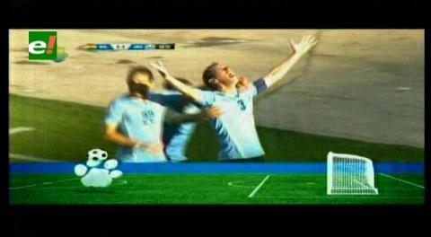 Uruguay superó a Bolivia 2-0 en el Hernando Siles de La Paz