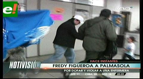 Visitador médico acusado de dopar y violar a una enfermera, es enviado a Palmasola