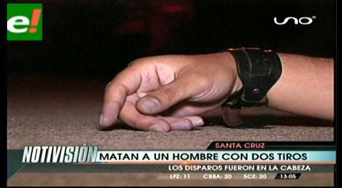 Santa Cruz: Matan a sujeto con dos disparos en la cabeza