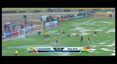 Ecuador 0-0 Bolivia: Resumen del primer tiempo