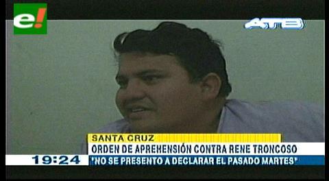 """Libran orden de aprehensión contra el dirigente """"mañanero"""" René Troncoso"""