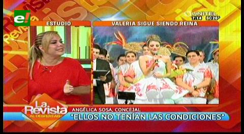 """Angélica Sosa: """"Los Pichones cometieron un desacierto, recuperaremos la fiesta grande de los cruceños"""""""