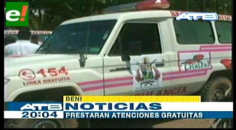 Alcaldía de Trinidad entrega dos ambulancias a Bomberos
