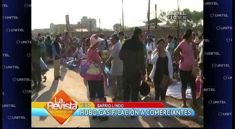 Santa Cruz: Gendarmes y mañaneros se enfrentaron en Barrio Lindo