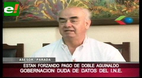 """Parada: """"El INE es una institución politizada y poco confiable"""""""