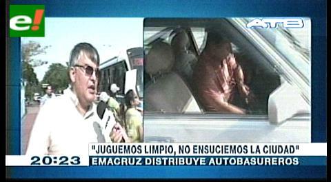 Campaña: Emacruz pide 'jugar limpio y no ensuciar la ciudad'