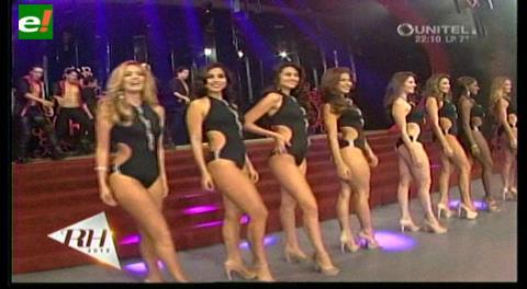 Reina Hispanoamericana 2015: Candidatas en traje de baño