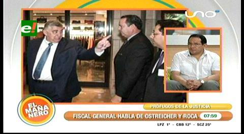 """Fiscal General: """"Ostreicher y Roca son prófugos de la Justicia"""""""