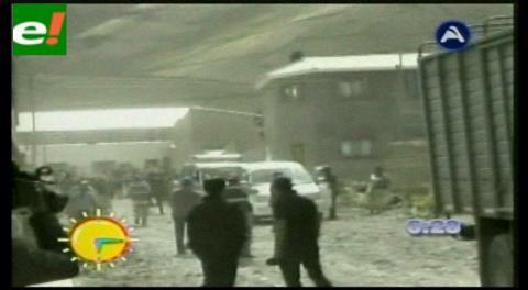 Contrabandistas son protegidos en Huachacalla, región de Oruro fronteriza con Chile