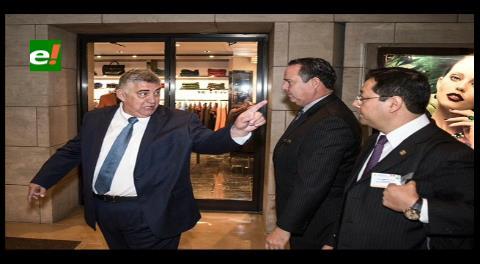 """Humberto Roca le dijo """"ladrón de m…"""" al ministro Luis Arce"""