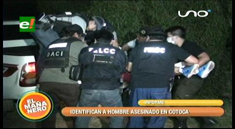 Cotoca: Matan y botan enmanillado a un hombre en Itapaqui
