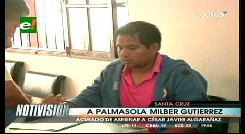 Envían a Palmasola al presunto asesino de Javier Algarañaz