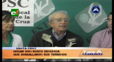 Denuncian avasallamiento en terrenos del Hogar Don Bosco