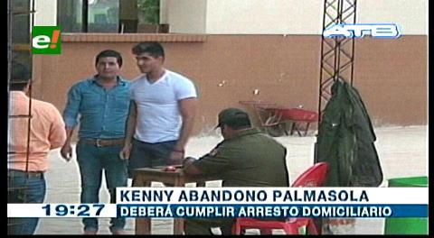 Kenny Teodovich abandonó Palmasola