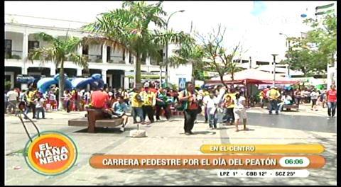 Diversión en domingo: Familias se volcaron a las calles por el Día del Peatón