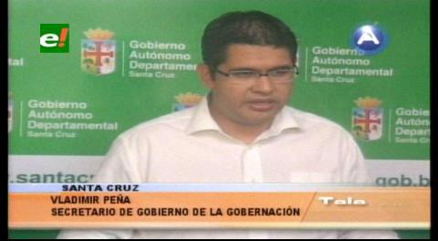 Rubén Costas expondrá hoy las potencialidades del departamento para atraer inversiones