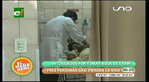 Cochabamba: Personas intoxicadas con agua de tarwi